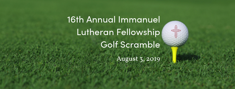 16th Annual Lutheran Fellowship Golf Scramble