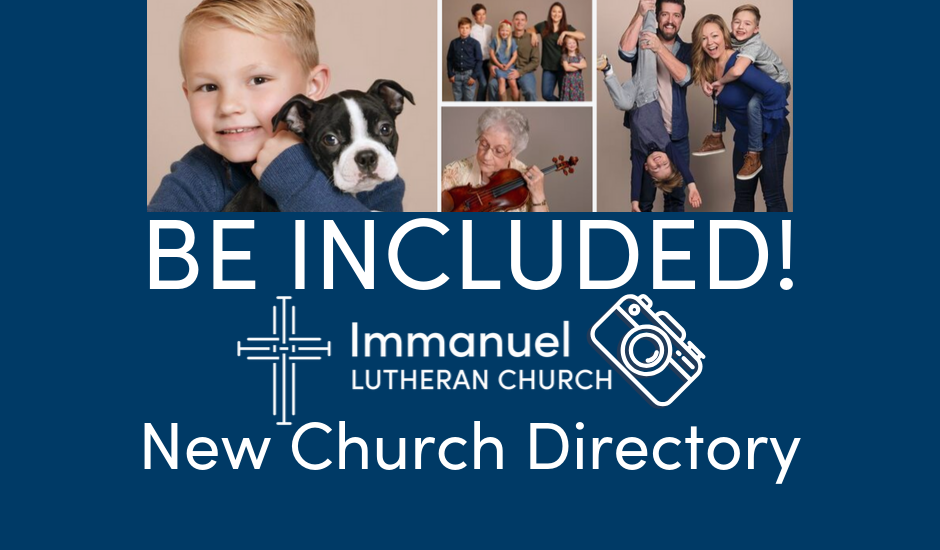 Church Directory Photo Sign Up