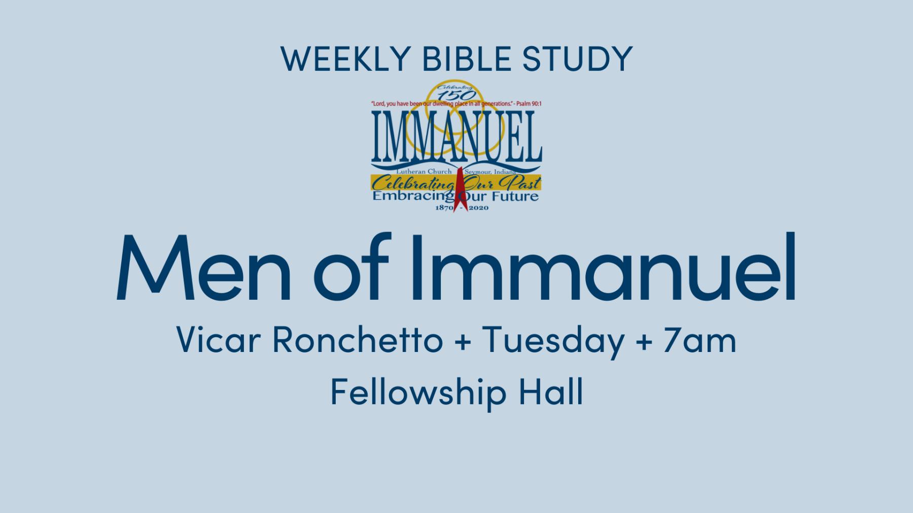 Men of Immanuel