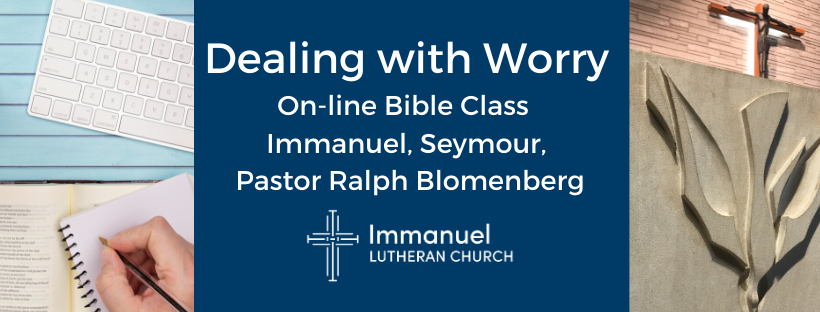 Online Bible Study with Pastor Blomenberg