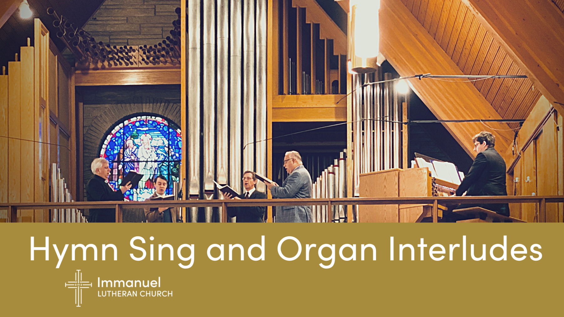 Hymn Sing and Organ Interludes