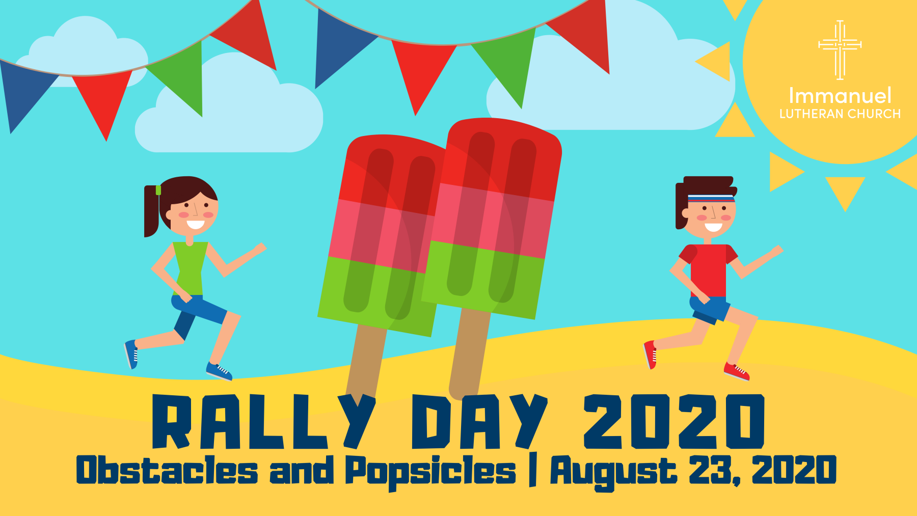 2020 Rally Day - Obstacles and Popsicles