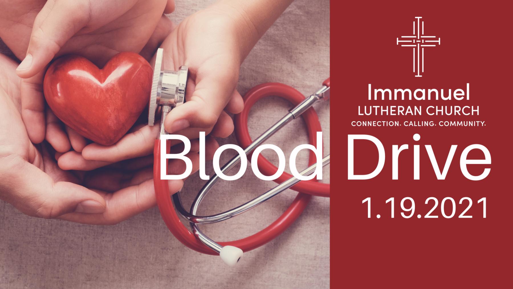 Blood Drive at Immanuel