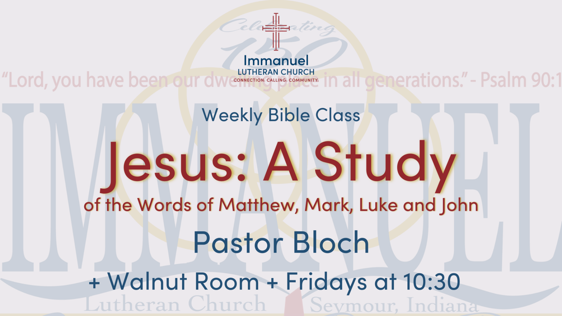 Jesus: A Study of the Words