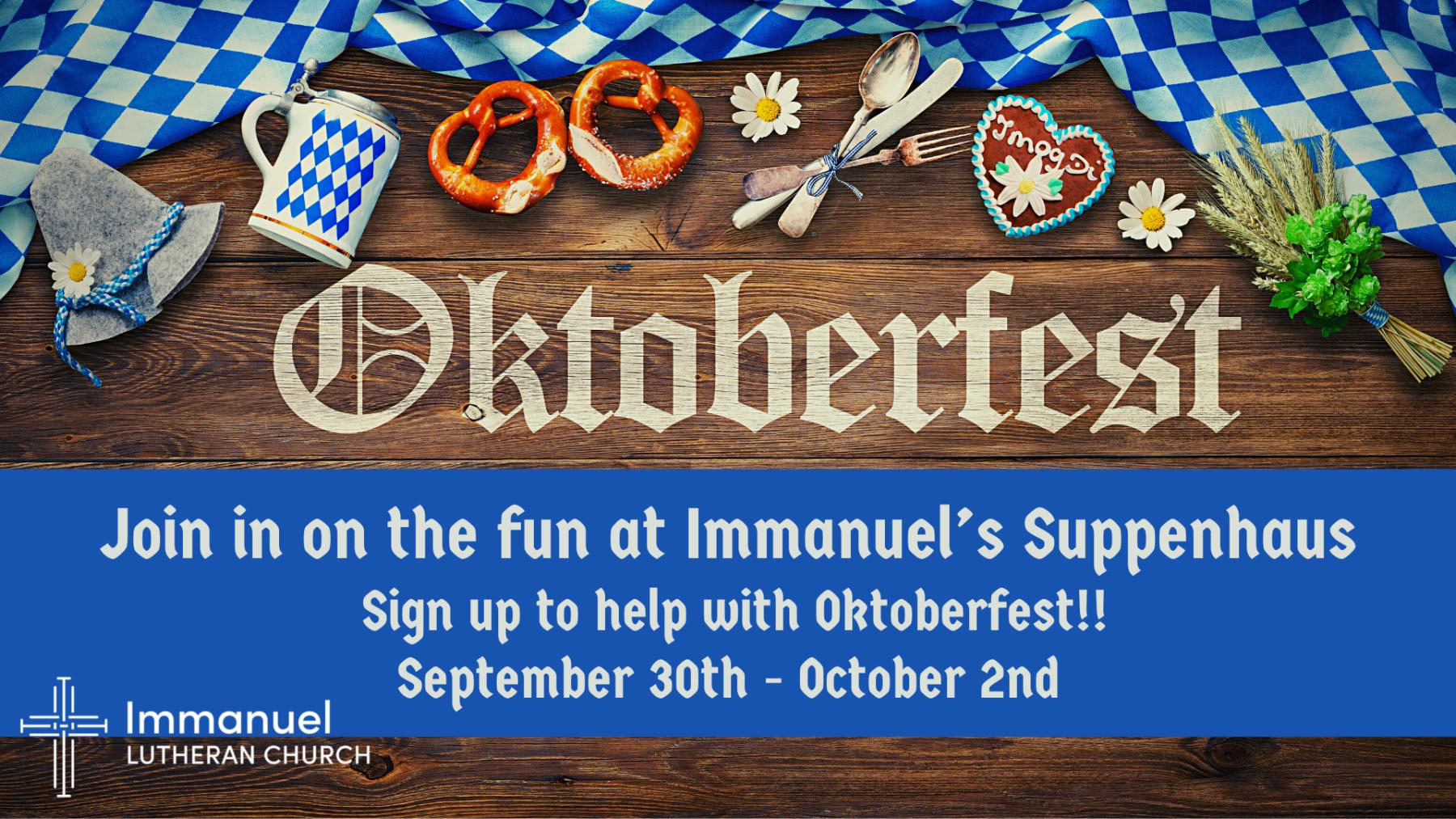Suppenhaus at Oktoberfest